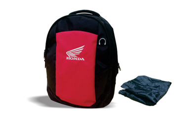 Backpack (Black & red)